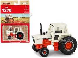 Case 1270 Agri King Tractor Cream Orange Case IH Agriculture Series 1/64 Diecast Model ERTL TOMY 44228