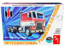 Skill 3 Model Kit International Transtar CO-4070A Truck Tractor 1/25 Scale Model AMT AMT1203