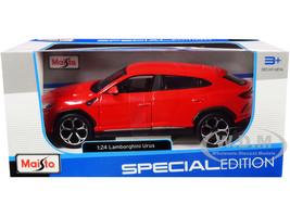 Lamborghini Urus Red Special Edition Series 1/24 Diecast Model Car Maisto 31519