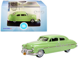 1949 Mercury Coupe Calcutta Green 1/87 HO Scale Diecast Model Car Oxford Diecast 87ME49008