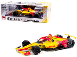 Dallara IndyCar #28 Ryan Hunter-Reay DHL Andretti Autosport NTT IndyCar Series 2021 1/18 Diecast Model Car Greenlight 11109