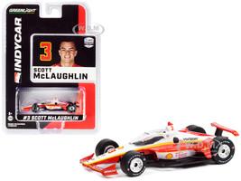 Dallara IndyCar #3 Scott McLaughlin Shell V-Power Nitro+ Team Penske NTT IndyCar Series 2020 1/64 Diecast Model Car Greenlight 11502