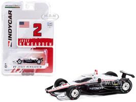 Dallara IndyCar #2 Josef Newgarden Hitachi Team Penske NTT IndyCar Series 2021 1/64 Diecast Model Car Greenlight 11504