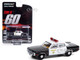 1973 AMC Matador Black White Los Angeles County Sheriff California Gone in Sixty Seconds 1974 Movie Hollywood Series Release 31 1/64 Diecast Model Car Greenlight 44910 A