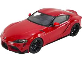 2021 Toyota Supra GR 3.0 Renaissance Red Black Wheels USA Exclusive Series 1/18 Model Car GT Spirit ACME US038