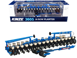 Kinze 3605 16 Row Planter Blue 1/64 Diecast Model SpecCast GPR1335