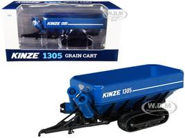 Kinze 1305 Grain Cart Tracks Blue 1/64 Diecast Model SpecCast GPR1336