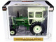 Oliver 1755 Diesel Wide Front Tractor Cab Dark Green Light Green Classic Series 1/16 Diecast Model SpecCast SCT777