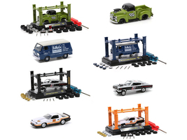 Model Kit 4 piece Car Set Release 37 Limited Edition 8800 pieces Worldwide 1/64 Diecast Model Cars M2 Machines 37000-37