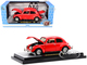 1952 Volkswagen Beetle Deluxe Bright Red Limited Edition 6500 pieces Worldwide 1/24 Diecast Model Car M2 Machines 40300-85 B