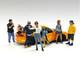 Car Meet 1 6 piece Figurine Set 1/18 Scale Models American Diorama 76277 76278 76279 76280 76281 76282