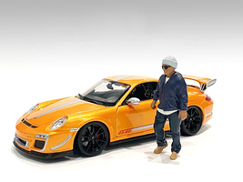 Car Meet 1 Figurine IV 1/24 Scale Models American Diorama 76380
