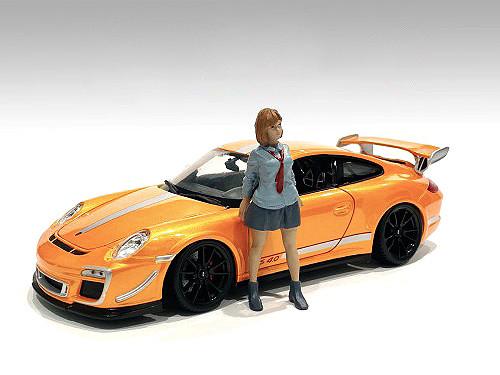 Car Meet 1 Figurine V 1/24 Scale Models American Diorama 76381