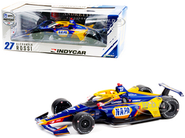 Dallara IndyCar #27 Alexander Rossi NAPA Auto Parts Andretti Autosport NTT IndyCar Series 2021 1/18 Diecast Model Car Greenlight 11110