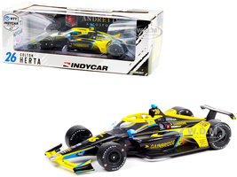 Dallara IndyCar #26 Colton Herta Gainbridge Andretti Autosport NTT IndyCar Series 2021 1/18 Diecast Model Car Greenlight 11112