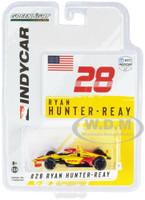 Dallara IndyCar #28 Ryan Hunter-Reay DHL Andretti Autosport NTT IndyCar Series 2021 1/64 Diecast Model Car Greenlight 11506