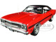1970 Plymouth GTX Red Black Top Black Stripes The Mod Squad 1968 1973 TV Series Limited Edition 504 pieces Worldwide 1/18 Diecast Model Car GMP 18941