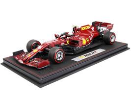 Ferrari SF1000 #16 Charles Leclerc Formula One F1 Tuscan Grand Prix 2020 DISPLAY CASE Limited Edition 500 pieces Worldwide 1/18 Diecast Model Car BBR 161000DIE