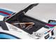 Lamborghini Aventador Liberty Walk LB-Works White Martini Livery Limited Edition 1/18 Model Car Autoart 79185