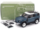 2020 Land Rover Defender 90 Roof Rack Tasman Blue White Top 1/18 Diecast Model Car Almost Real 810702