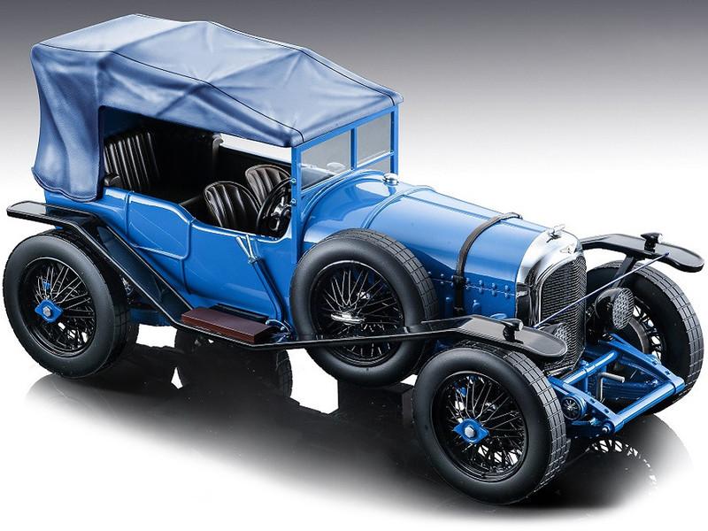 1924 Bentley 3L Gloss Blue Street Version Mythos Series Limited Edition 60 pieces Worldwide 1/18 Model Car Tecnomodel TM18-204C