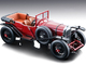 1924 Bentley 3L Convertible Dark Red Street Version Mythos Series Limited Edition 70 pieces Worldwide 1/18 Model Car Tecnomodel TM18-204D
