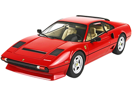 1982 Ferrari 208 GTB Turbo Rosso Corsa 322 Red DISPLAY CASE Limited Edition 437 pieces Worldwide 1/18 Model Car BBR P18103