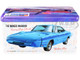Skill 2 Model Kit 1969 Dodge Charger Daytona USPS United States Postal Service Themed Collectible Tin 1/25 Scale Model AMT AMT1232