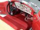 1935 Duesenberg SSJ Speedster Green Metallic Enamel Red Coves 1/18 Diecast Model Car Autoworld AW279