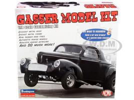 Model Kit 1940 Willys Gasser 2-In-1 Kit 1/18 Scale Diecast Model Kit ACME A1800904K