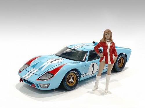 Race Day 2 Figurine VI 1/24 Scale Models American Diorama 76400