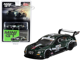 Bentley Continental GT3 RHD Right Hand Drive #107 M-Sport Team Bentley Total 24 Hours Spa 2019 Limited Edition 1800 pieces Worldwide 1/64 Diecast Model Car True Scale Miniatures MGT00208