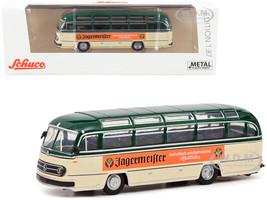Mercedes Benz 0321 Bus Jagermeister Green Cream 1/87 HO Diecast Model Schuco 452662300