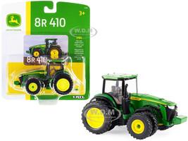 John Deere 8R 410 Tractor Dual Wheels Green 1/64 Diecast Model ERTL TOMY 45709