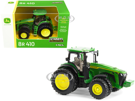 John Deere 8R 410 Tractor Dual Wheels Green Prestige Collection Series 1/64 Diecast Model ERTL TOMY 45733