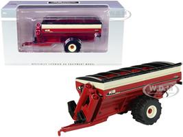 KB Killbros 1111 Grain Cart Flotation Tires Red 1/64 Diecast Model SpecCast UBC009