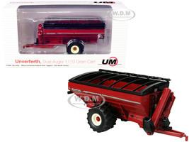 Unverferth Dual-Auger 1110 Grain Cart Flotation Tires Red 1/64 Diecast Model SpecCast UBC010