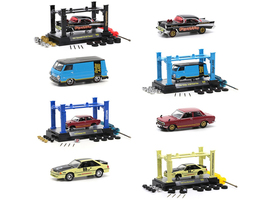 Model Kit 4 piece Car Set Release 39 Limited Edition 8280 pieces Worldwide 1/64 Diecast Model Cars M2 Machines 37000-39