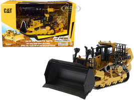 CAT Caterpillar D11T Track-Type Tractor 2 Blades 2 Rear Rippers Play & Collect! Series 1/64 Diecast Model Diecast Masters 85637