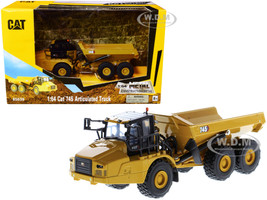 CAT Caterpillar 745 Articulated Truck Play & Collect! Series 1/64 Diecast Model Diecast Masters 85639