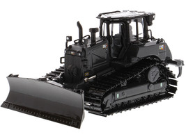 CAT Caterpillar D6 XE LGP Track-Type Tractor Dozer VPAT Blade Operator Special Black 175K Edition High Line Series 1/50 Diecast Model Diecast Masters 85705