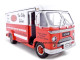 1961 Divco Step Van 70 Red 1/34 Diecast Van Unique Replicas 18530