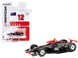 Dallara IndyCar #12 Will Power Verizon 5G Team Penske NTT IndyCar Series 2021 1/64 Diecast Model Car Greenlight 11512
