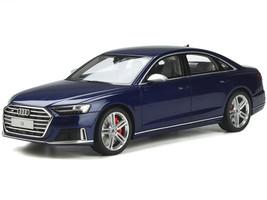 Audi S8 Navarra Blue Metallic 1/18 Model Car GT Spirit GT313