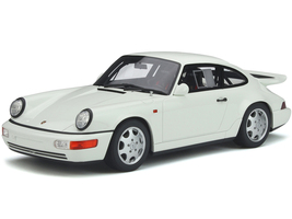 Porsche 911 964 Carrera 4 Lightweight Grand Prix White 1/18 Model Car GT Spirit GT319