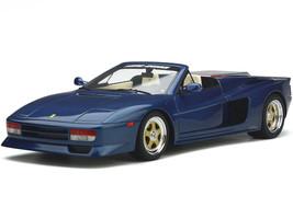 Ferrari Testarossa Koenig-Specials Spider Convertible Blue Sera Metallizzato Metallic 1/18 Model Car GT Spirit GT329