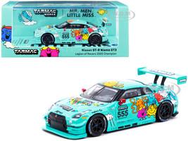 Nissan GT-R Nismo GT3 #555 Jonathan Wong Mr. Men Little Miss Legion of Racers Overall Champion 2020 1/64 Diecast Model Car Tarmac Works T64-005-MR