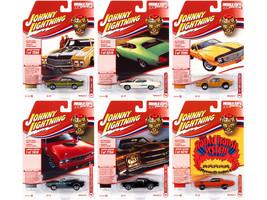 Muscle Cars USA 2021 Set B of 6 Cars Release 2 Class of 1971 1/64 Diecast Model Cars Johnny Lightning JLMC026 B