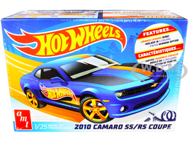 Skill 2 Model Kit 2010 Chevrolet Camaro SS/RS Coupe Hot Wheels 1/25 Scale Model AMT AMT1255 M