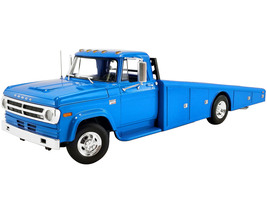 1970 Dodge D-300 Ramp Truck Corporate Blue Limited Edition 632 pieces Worldwide 1/18 Diecast Model Car ACME A1801905